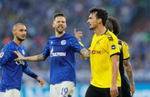 Ruhr Derby Dortmund v Schalke