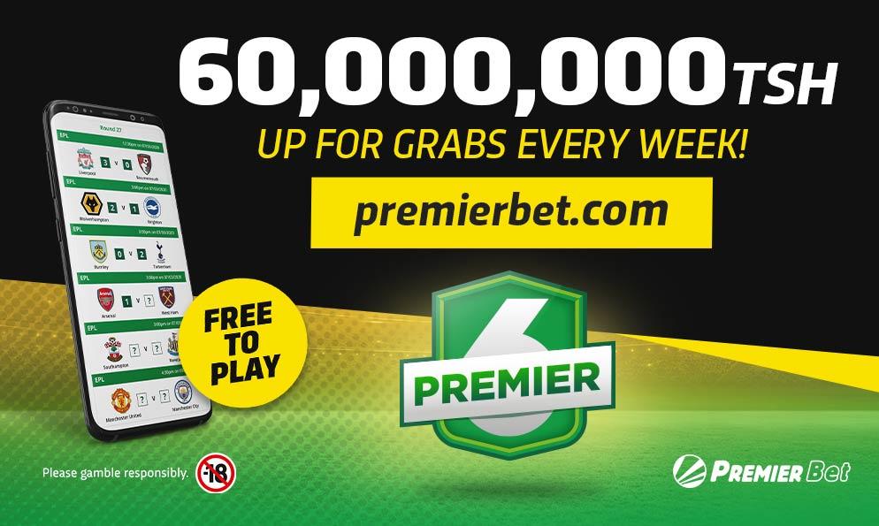 Premier betting tanzania normal odds late komendy minecraft 1-3 2-4 betting system